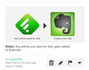 5 Ways to Turbo Boost your RSS with Feedly and IFTTT image feedly to evernote 540x4271