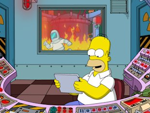Google to Release New Gmail User Interface for Android Users image the simpsons iPad reactor
