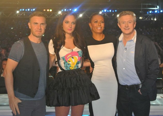 Mel B, X Factor, auditions, booed