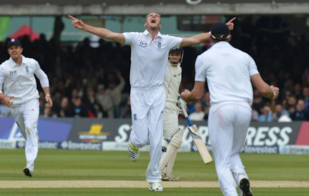 Cricket - Investec Test Series - First Test - Day Four - England v New Zealand - Lord's