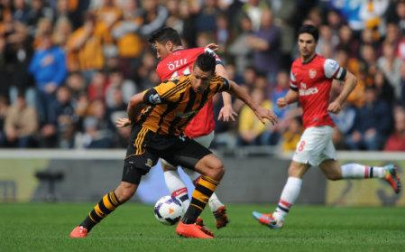Soccer - Barclays Premier League - Hull City v Arsenal - KC Stadium
