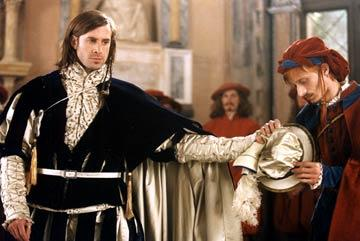 Joseph Fiennes and Mackenzie Crook in Sony Pictures Classics William Shakespeare's The Merchant of Venice