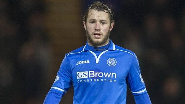 Stevie May has been in fine form for St Johnstone