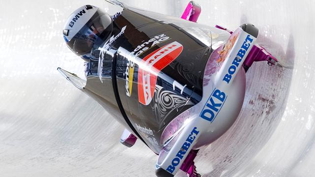 Bobsleigh - Kiriasis denies Humphries in Igls