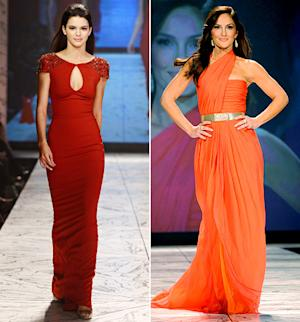 Minka Kelly, Kendall Jenner, Gabrielle Douglas, Kelly Osbourne: Who Wore the Red Dress Best?