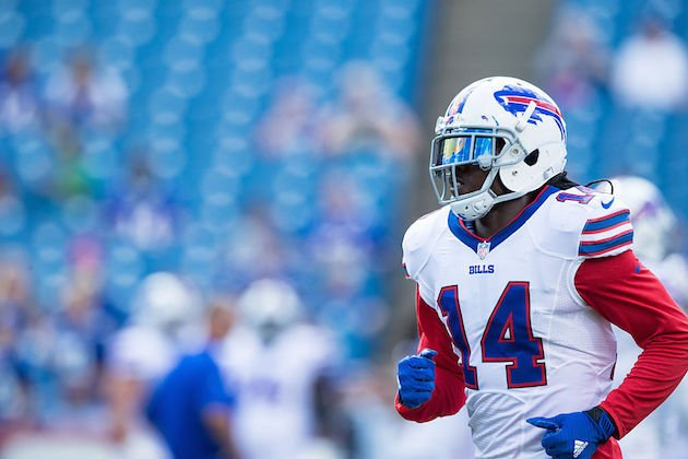 Sammy Watkins' bum wheel complicates matters in Buffalo. (Getty)