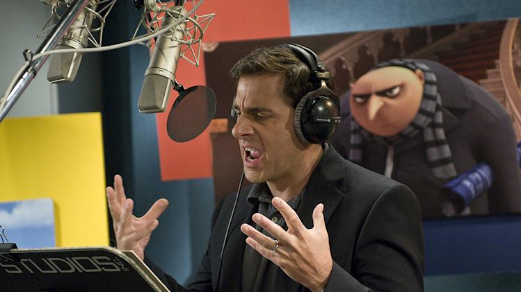 Despicable Me Universal Pictures 2010 Production Photos Steve Carell