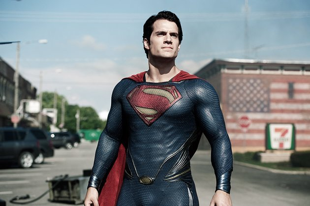 Henry Cavill, 'Man of Steel'