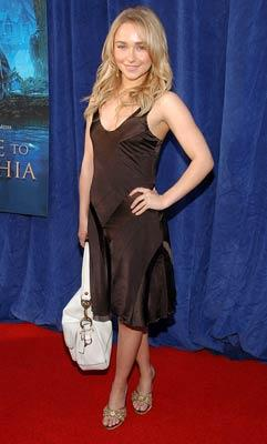Hayden Panettiere at the Hollywood premiere of Walt Disney Pictures' Bridge to Terabithia