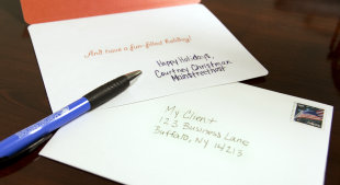 3 Things to Consider While Handwriting Your Holiday Cards image holidaycard1