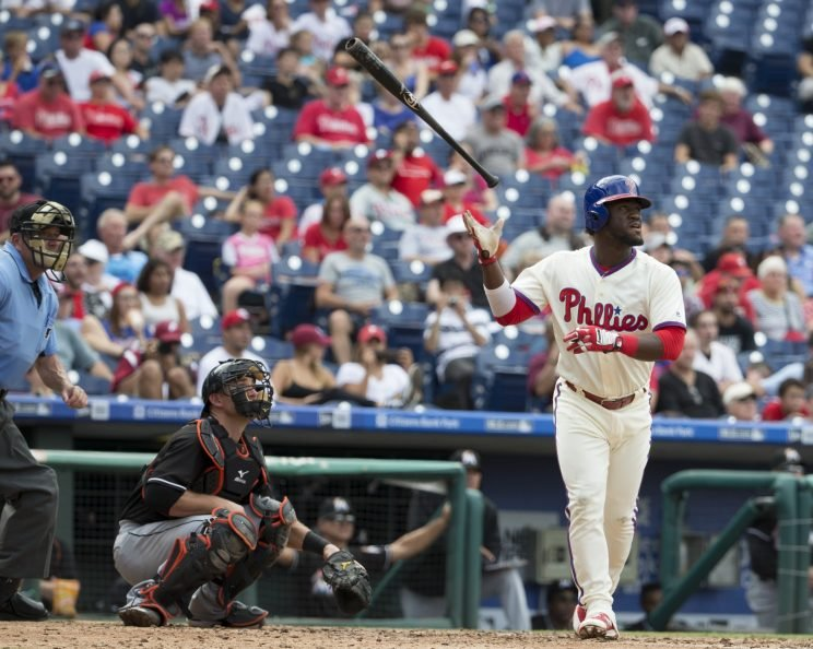 The Phillies locked up Odubel Herrera. (Getty Images/Mitchell Leff)
