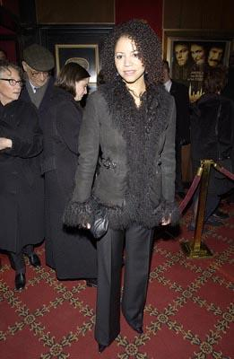 Premiere: Gloria Reuben at the New York premiere of Miramax's Gangs of New York - 12/9/2002