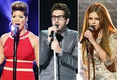 Tessanne Chin, Will Champlin, Jacquie Lee | Photo Credits: Tyler Golden/NBC