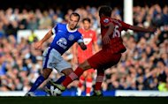 Everton midfielder Leon Osman (L) in action against Southampton in September. Not so long ago, in the days of Sven-Goran Eriksson and Fabio Capello, there were suggestions that the England football team represented a 'closed shop' -- but Osman has been called up at the age of 31 and could be set for his international debut
