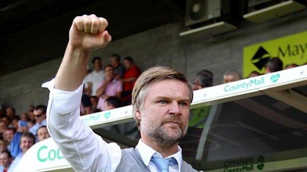 Coventry boss Steven Pressley (PA Sport)