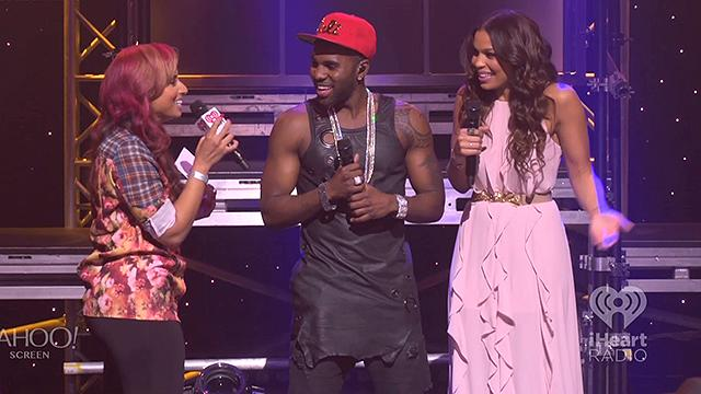 iHeartRadio Album Release Party: Derulo, Sparks talk kids
