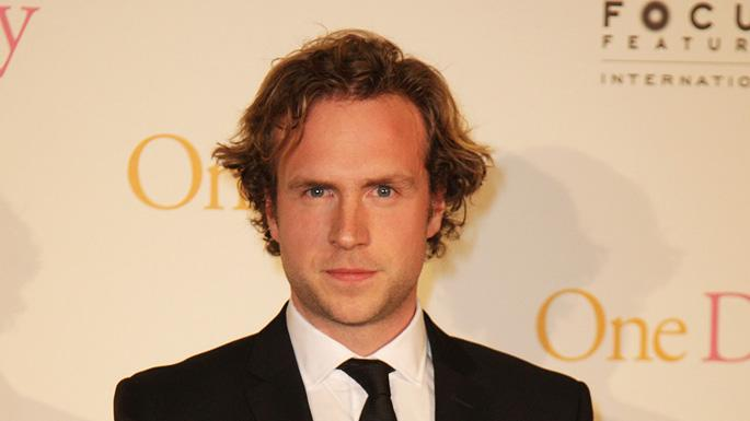 One Day UK Premiere 2011 Rafe Spall