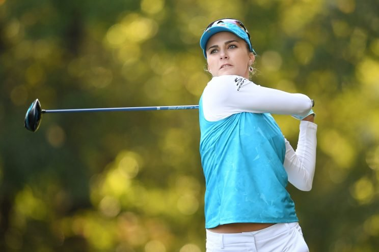 Lexi Thompson is taking part in the Shark Shootout this week. (Getty Images)