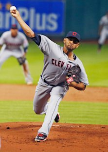 Don't let Danny Salazar's rough start in '14 scare you away this draft season..  (Getty)