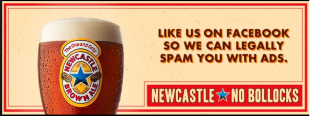 Brutally Honest Branding: Newcastle Brown Ale (Brand Case Study) image Newcastle 3