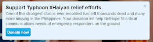 8 Ways Social Media Is Directly Helping the Victims of Typhoon Haiyan image 6 Twitter12