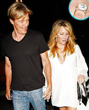 Heather Locklear Shows Off Dazzling Engagement Ring!