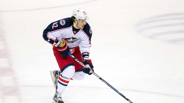 NHL: Columbus Blue Jackets at Minnesota Wild