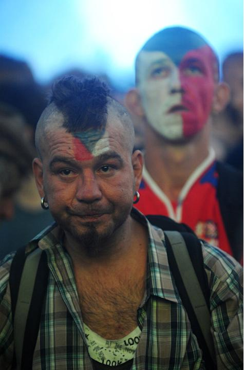 A Czech Fans AFP/Getty Images