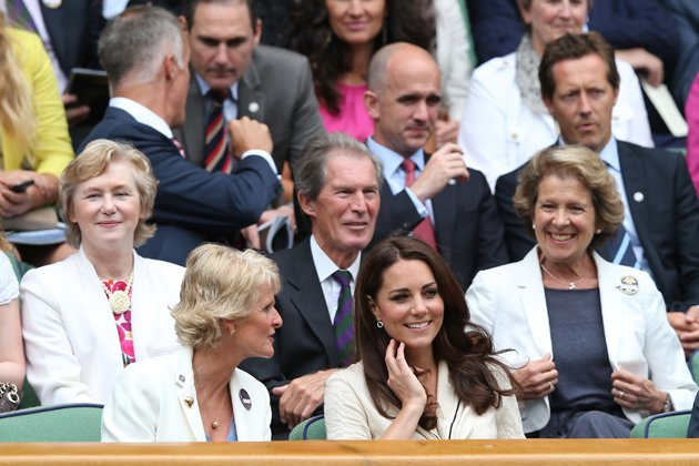 Kate Middleton, Duchess of Cambridge at Wimbledon