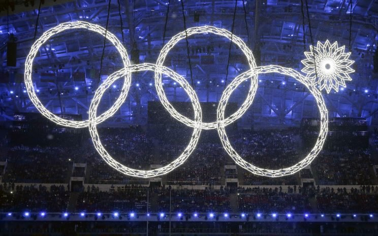 The most memorable moment from Sochi was when one of the Olympic rings failed to open during the Opening Ceremony. (AP)