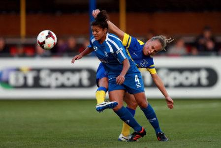Soccer - FA Women's Super League - Birmingham City Ladies v Everton Ladies - Solihull Moors FC