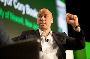 Blurred Lines: Cory Booker, #waywire And Politics In Social Media image cory booker waywire