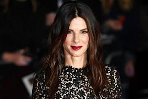 "Actress Sandra Bullock arrives at a gala screening of her film ""Gravity"" at the London Film Festival at a cinema in Leicester Square, central London"