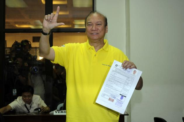 Senatorial aspirants file COCs