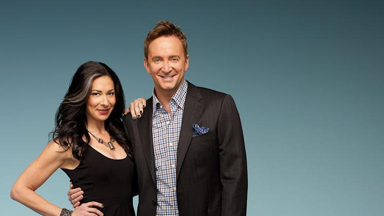 "Stacy London and Clinton Kelly on ""What Not To Wear."""