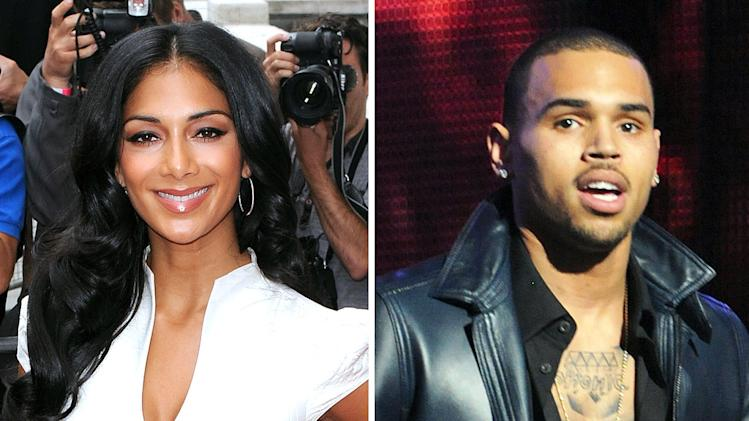 Nicole Scherzinger, Chris Brown