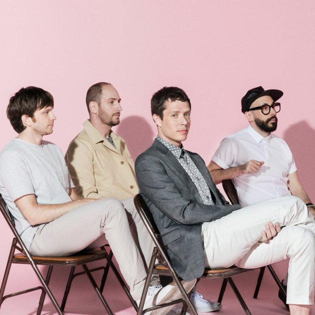 """Formed as a quartet in Chicago in 1998 and relocated to Los Angeles three years later, OK Go (Damian Kulash, Tim Nordwind, Dan Konopka, Andy Ross) have spent their career in a steady state of transformation. The four songs of the all-new Upside Out EP represent the first preview of Hungry Ghosts, due out in the fall on the band's own Paracadute. This is the band's fourth full-length and the newest addition to a curriculum vitae filled with experimentation in a variety of mediums.The band worked with longtime producer and friend Dave Fridmann (Flaming Lips, Weezer, MGMT), while also enlisting a new collaborator in Los Angeles, veteran Tony Hoffer, (Beck, Phoenix, Foster the People) to create their most comfortable and far-reaching songs yet. Building on (and deconstructing) 15 years of pop-rock smarts, musical friendship, and band-of-the-future innovations the EP, Upside Out, offers a concise overview of forthcoming Hungry Ghosts' melancholic fireworks (""""The Writing's on the Wall""""), basement funk parties (""""Turn Up The Radio""""), IMAX-sized choruses (""""The One Moment""""), and space-age dance floor bangers (""""I Won't Let You Down""""). Drawn from the same marching orders issued to big-hearted happiness creators as Queen, T. Rex, The Cars or Cheap Trick, and a lifetime of mixed tapes exchanged by lifelong music fans, Upside Out is a reaffirmation of the sounds and ideas that brought the band together in the first place. The four songs provide an assured kick-off to a new sequence of interconnected performances, videos, dances, and wild, undreamt fun.""""As the band has evolved over the last 15 years, the creative palette we work with has expanded in so many unexpected and gratifying directions,"""" says frontman Damian Kulash. """"This record feels like it's the musical manifestation of that — like we can speak in a clearer voice when we are playing in a bigger sandbox. Just as the band's whole project became clearer to us as we learned to find more homes for our creativity — we triangul"""