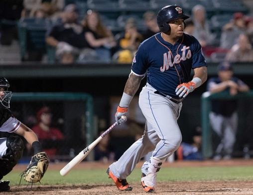 Mets prospect Dominic Smith hopes a healthy lifestyle leads to a longer career. (Getty Images)