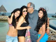 Sridevi holidays with husband Boney Kapoor and daughters
