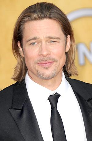 "Brad Pitt Recalls His ""Drug Days,"" Jokes He's a ""Drug Addict"""
