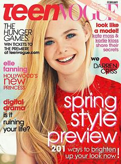 "Elle Fanning, 13, Would Rather Look ""Two Than 21"""