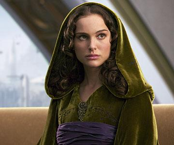 Padme Amidala ( Natalie Portman ) in 20th Century Fox's Star Wars: Episode III