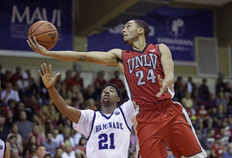Jalen Poyser is one of just two returning scholarship players for UNLV (AP)