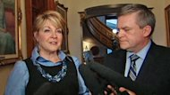Premier David Alward and his cabinet ministers have had difficulty explaining the appointment of former energy minister Margaret-Ann Blaney to the top job at Efficiency New Brunswick.