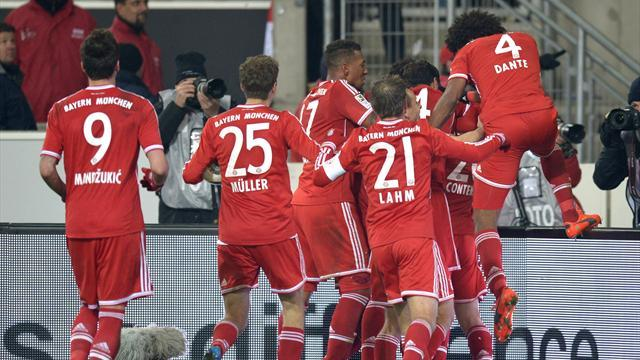 Bundesliga - Bayern pull off amazing late turnaround in Stuttgart