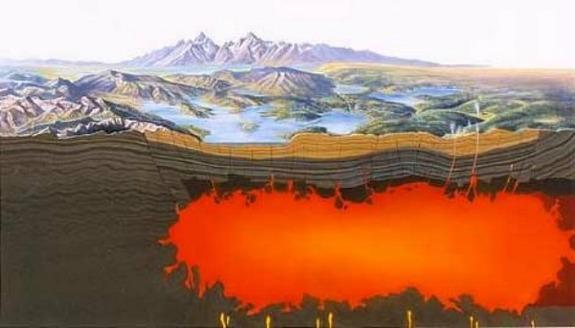 Yellowstone's Volcano Bigger Than Thought