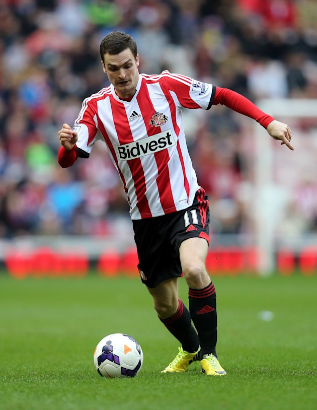 Sunderland will be counting on winger Adam Johnson to save them from relegation. (Photo: Associated Press)