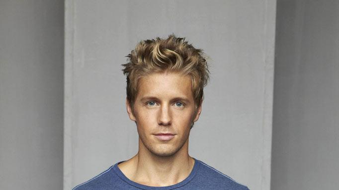 "Matt Barr stars as Dan in ""Hellcats."""