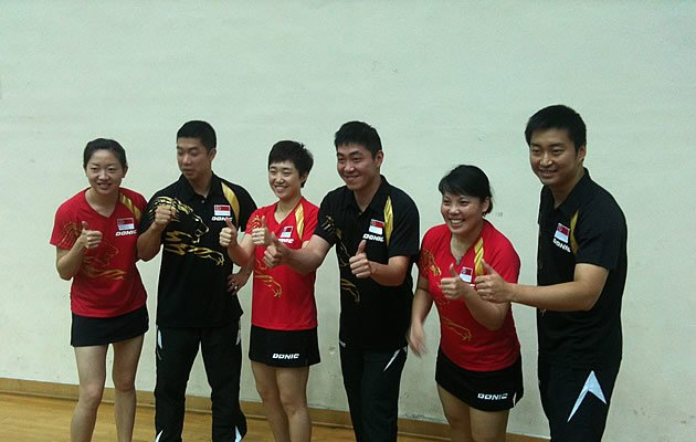 Despite their mixed recent form, S'pore is still gunning for two medals at the Olympic Games (photo courtesy of STTA)