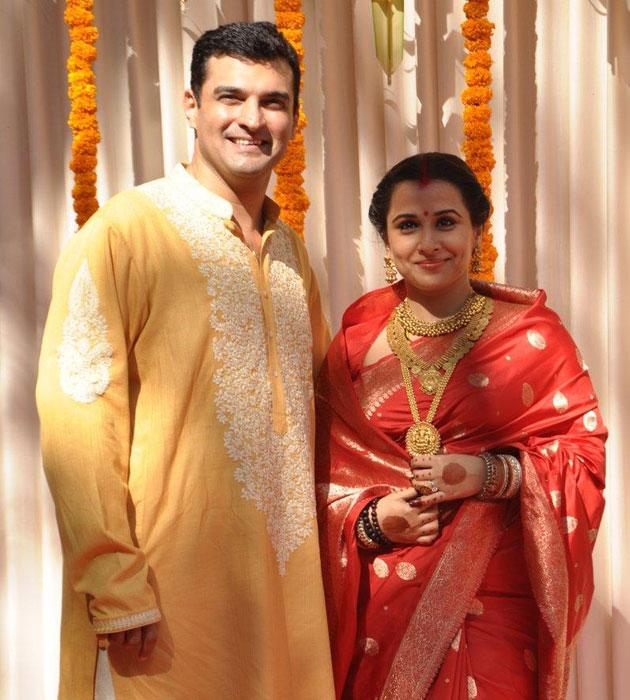 Vidya is now Mrs Sidharth Roy Kapur